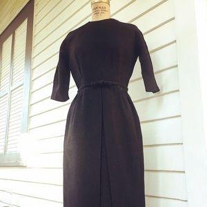 Vintage 1960's little black dress.